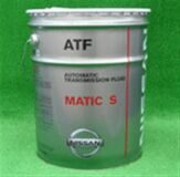 МАСЛО АТ Matic S ATF 20л.